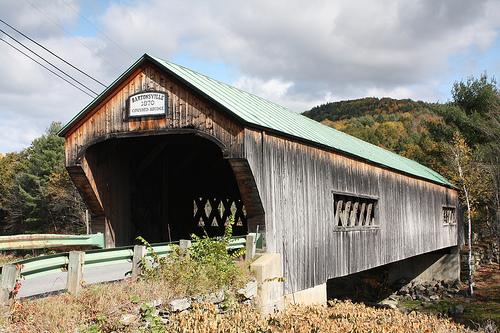 Bartonsville Covered Bridge before Hurricane Irene